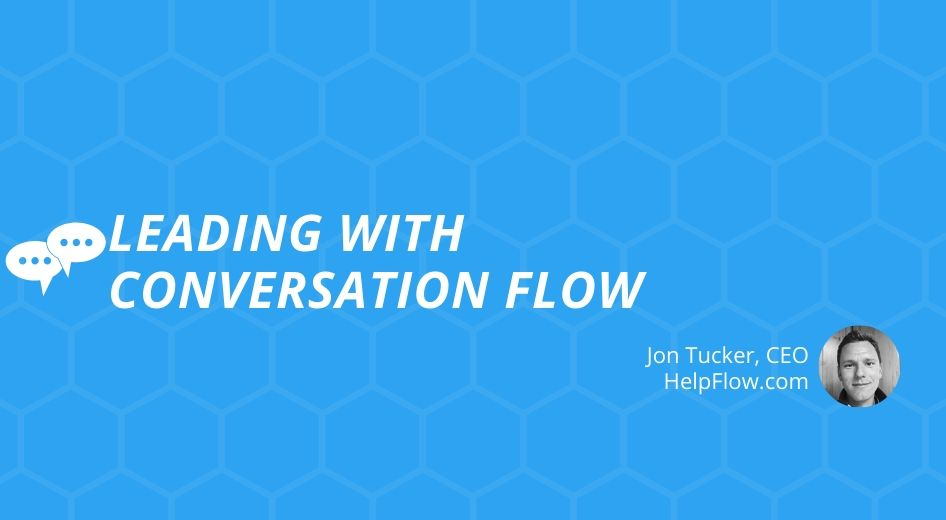 Drive Live Chats with a Conversation Flow