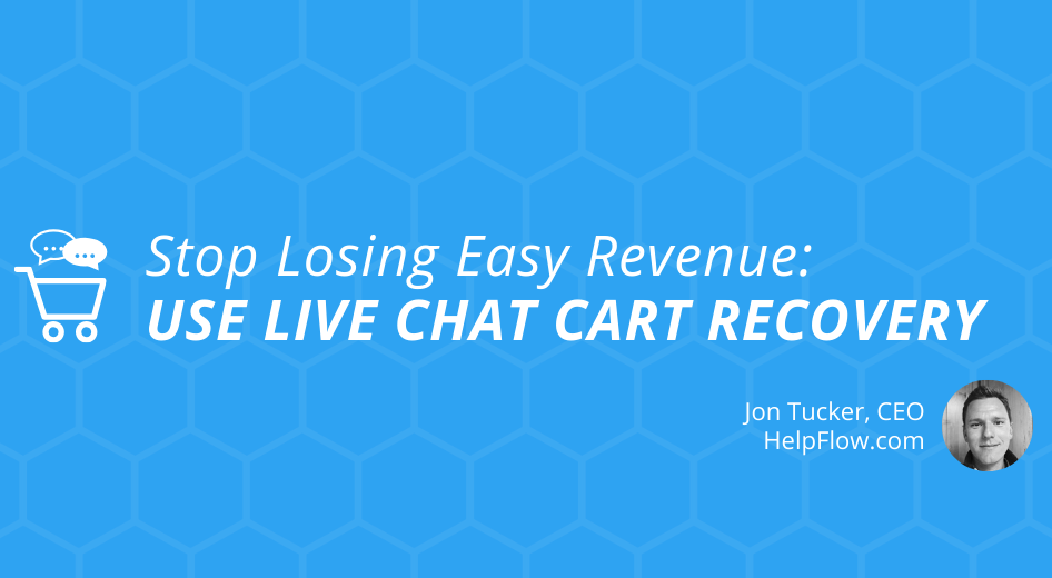 Live Chat Cart Recovery